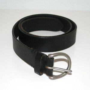 Eddie Bauer Leather Belt Dark Brown